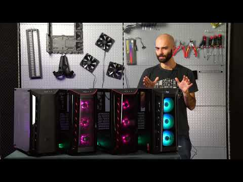 video Cooler Master Masterbox MB520