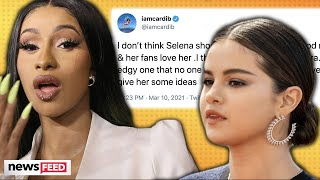 Cardi B BEGS Selena Gomez Not To Retire!