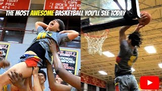 Cole Anthony INSANE Dunks!! + The Most AWESOME Basketball Moment You'll See Today