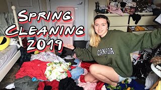 CLEANING MY ROOM! A SATISFYING TIMELAPSE!! Spring cleaning 2019🌿