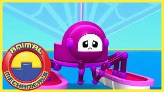 Animal Mechanicals 316 - Mechana Spider Sailor Island | Full Episode HD | Cartoons for Kids