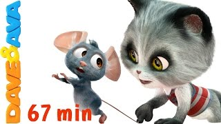 😽 Pussy Cat, Pussy Cat | Nursery Rhymes and Kids Songs from Dave and Ava 😽