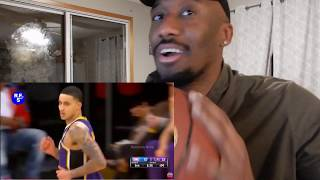 KYLE KUZMA 41 POINTS IN THE THIRD QUARTER REACTION!!! SECOND BEST PLAYER ON THE LAKERS?