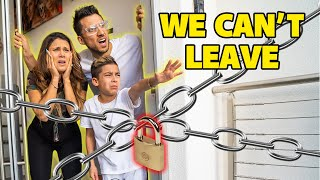 WE CAN'T LEAVE OUR HOME! **STUCK INSIDE** (DAY 1) 💔 | The Royalty Family