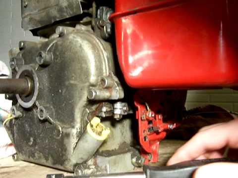 Briggs And Stratton 5hp Governor Adjustment Model
