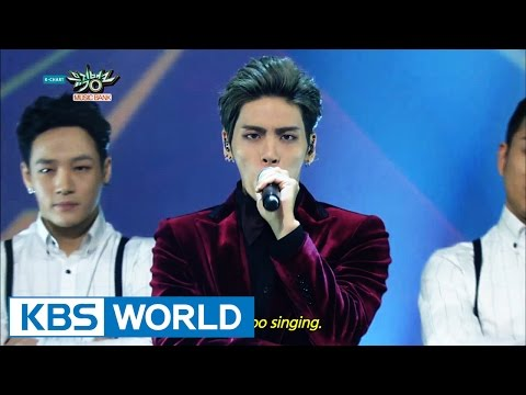 JongHyun (종현) - Deja-Boo (데자-부) / CRAZY (Feat. IRON) [Music Bank Solo Debut / 2015.01.09]