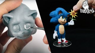 Create Baby Sonic👶🦔 with Clay (Sonic the hedgehog Movie) [kiArt]