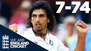 Ishant Sharma Takes Best EVER Figures of 7-74 at Lord's   England v India 2014 - Highlights