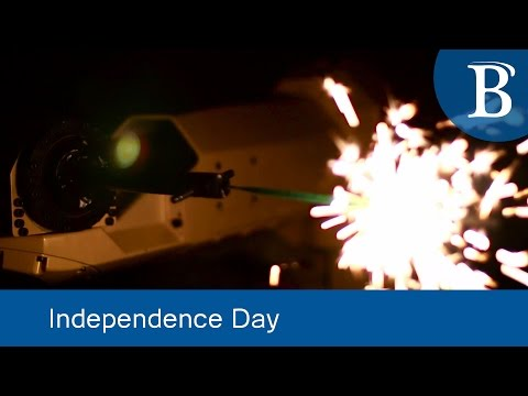 Robots and Fireworks Spell a Happy Independence Day