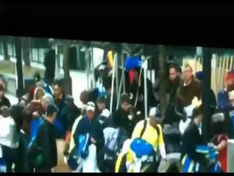 People Looting after Boston Marathon Bombing, and No, they Aren\'t Black