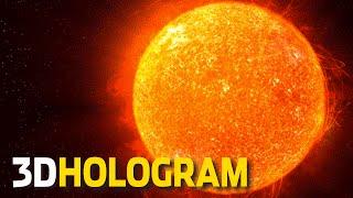 3D Hologram: A Tour Of The Solar System - 3D Hologram Projector