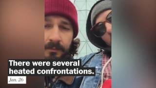 Shia LaBeouf's battle with 4chan
