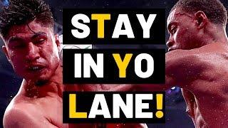 TO ALL HATING MIKEY GARCIA FANS| STAY IN YO LANE! Errol Spence WINS BIG!