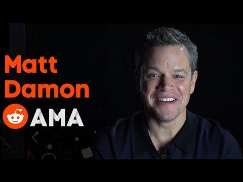 Matt Damon: Reddit Ask Me Anything