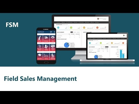 FSM - Field Sales Management App