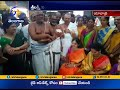 MP Kavitha inspects ongoing works at Yadadri temple
