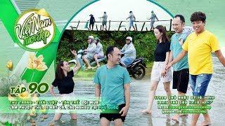 Thu Trang, Tiến Luật, Tân Trề đội mưa làm phượt thủ, đi bắt cá, cào nghêu tại Phú Quốc | VNTĐ Tập 90