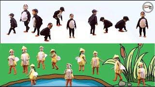 Ten Little Penguins and Ten Little Duckies | Nursery Rhymes Kids Songs | Savannah Mohini TV