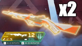 Double 30-30 REPEATER is INSANELY FUN in Apex Legends