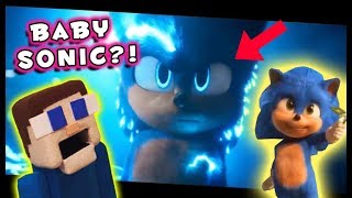 BABY Sonic the Hedgehog?! NEW Movie Trailer 3 & 4 Reaction & Hidden Ending Easter Eggs!