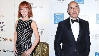 Kathy Griffin Claims She's Known About Matt Lauer's Alleged Behavior For Years: 'My Memory Is Long'