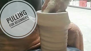 Pulling Clay for Beginners