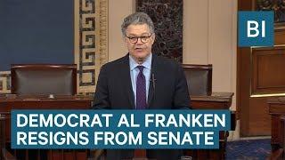 Watch Sen. Al Franken Resign Amid Multiple Allegations Of Sexual Harassment