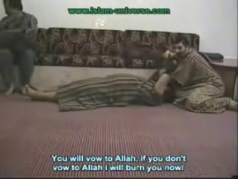 Devil Jinn Female in man's body!!!!!! Exorcism in ISLAM ...