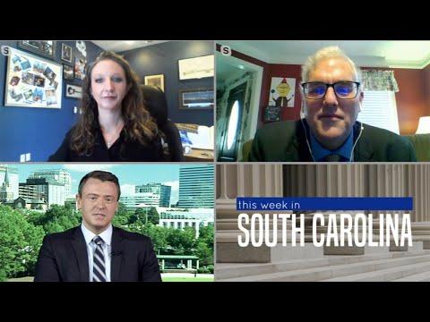 screenshot of youtube video titled This Week in South Carolina   Legislative Update