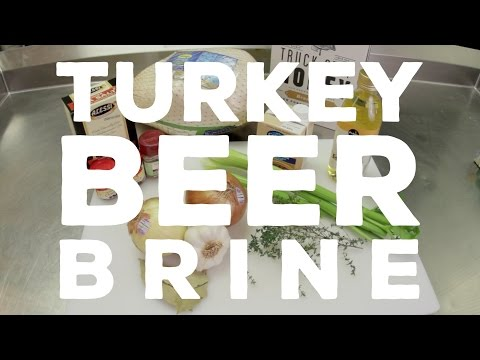 Turkey Beer Brine
