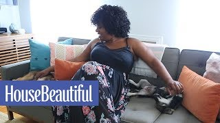 Inside Adrienne C. Moore's Colorful Brooklyn Apartment | House Beautiful