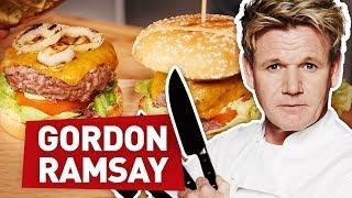 JE TESTE UNE RECETTE DE GORDON RAMSAY ! (Le Burger Parfait)