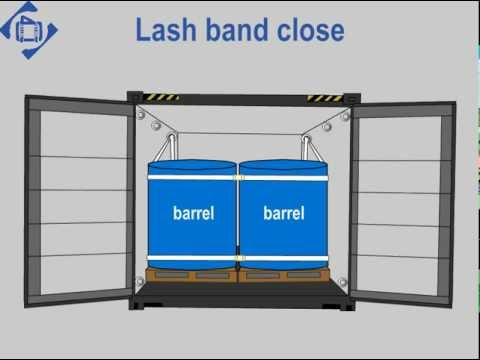 Securing Barrels with Special Lashing 01