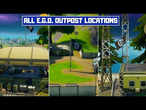 Visit Different E.G.O. Outposts! All E.G.O. Outpost Locations in Fortnite! - Fortnite Chapter 2