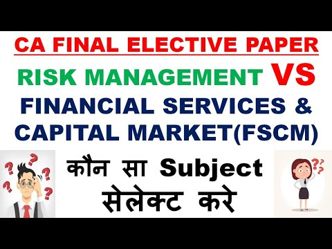 video Risk Management ELECTIVE PAPER NEW By Aaditiya Jain CA Final Regular