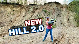 NEW GIANT HILL!!! SEND IT TO THE MOON!!! - Arrma Mojave V2 RC Car - TheRcSaylors