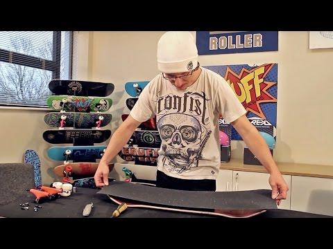 Video ENUFF Grip SHEETS HAZARD Blanc