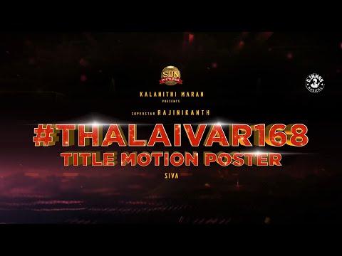 Motion Poster: Annaatthe- Rajinikanth's 168th movie