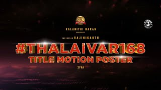 Motion Poster: Annaatthe- Rajinikanth's 168th movie..