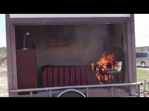 Austin Habitat and Austin Fire Dept Fire Demonstration