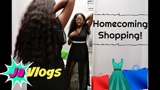 HOMECOMING SHOPPING | Family Vlogs | JaVlogs