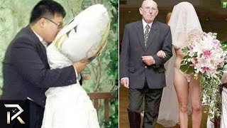 10 Weirdest Marriages That Actually Happened!