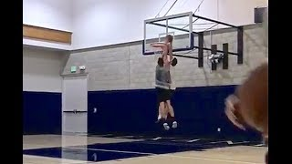 Gordon Hayward is back to dunking on his trainer