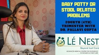 Baby Potty or Stool Problems  | 4th Trimester | By Paediatrician Dr.Pallavi Mukesh Gupta