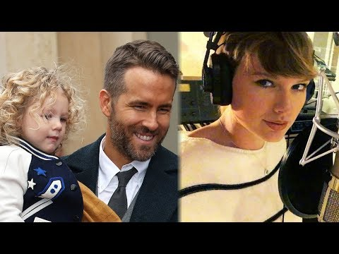 Ryan Reynolds JOKES About Taylor Swift Putting Daughter's Voice in Song