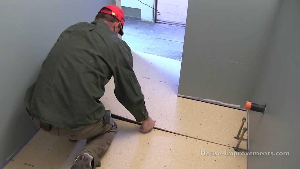 Bathroom Floor Tile Underlayment