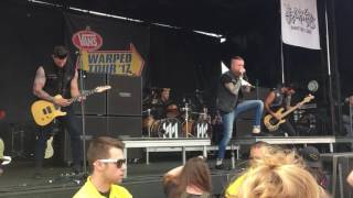 Memphis May Fire - The Sinner live at Warped Tour 2017 in Salem OR
