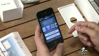 Apple iPhone 4s first time start up and unboxing