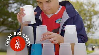 The Fastest Cup Stacker in Texas