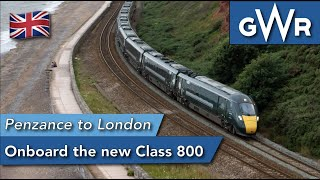 How comfy are GWR's new trainset? Corwall to London Train Trip